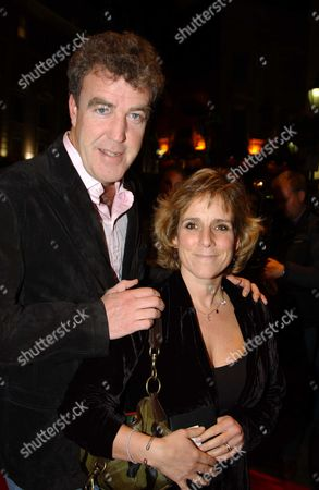 Jeremy Clarkson with his wife Frances Cain