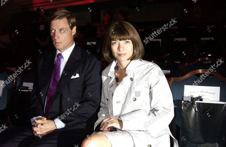 Anna Wintour with her partner, Shelby Bryan