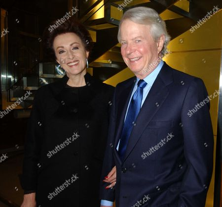 Stock Picture of Mercedes Bass with her husband William (Bill) Bass