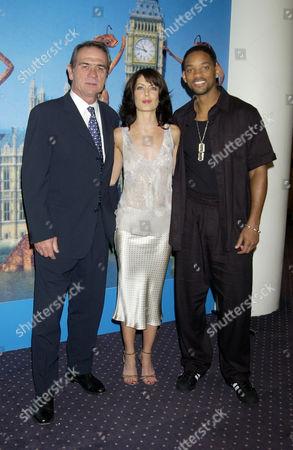 Tommy Lee Jones, Lara Flynn Boyle and Will Smith