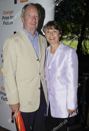 Michael Buerk with his wife Christine Buerk
