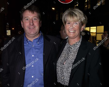 Richard Littlejohn with his wife