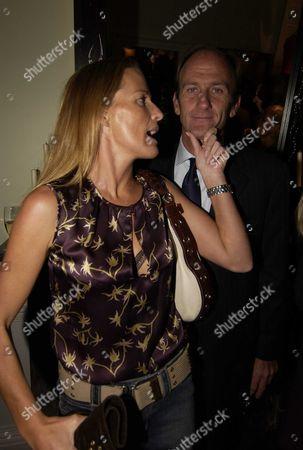 India Hicks with her partner, David Flint Wood (Flintwood)