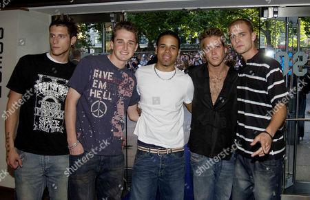 Band 'Triple 8' (Ian Farquharson, Jamie Bell, David Wilcox, Josh Barnett, Justin Scott )