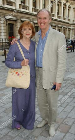 Tim Pigott-Smith with his wife Pamela Miles