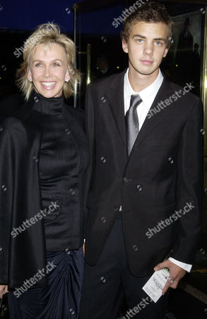Trudie Styler with her son Jake Sumner