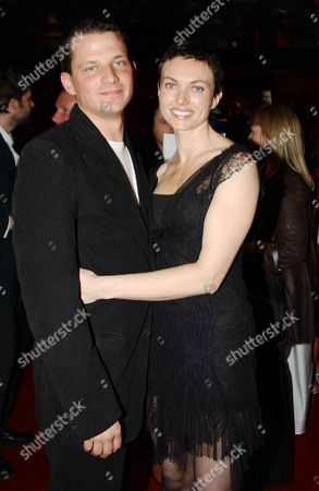 George Duffield with his wife Natasha Wightman (she in the film)