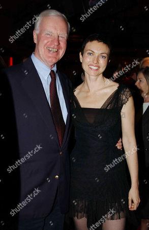 Sir Jocelyn Stevens and Natasha Wightman  (she in the film)