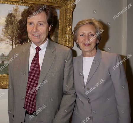 Sue Lawley with her husband Roger Hugh Williams