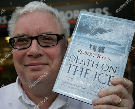 Editorial picture of Robert Ryan promoting his new book 'Death On The Ice' at Borders in Oxford, Britain - 06 May 2009