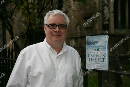 Editorial photo of Robert Ryan promoting his new book 'Death On The Ice' at Borders in Oxford, Britain - 06 May 2009