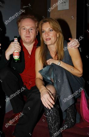 Mike Batt with his wife Julianne White