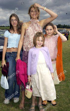 Yasmin le Bon with her daughters Amber Le Bon, Tallulah Le Bon and Saffron Le Bon