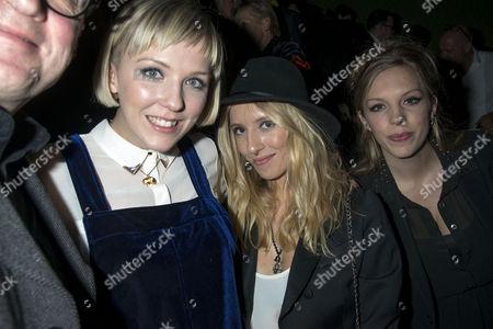Stock Photo of Ella Edmondson, Beattie Edmondson  and Freya Edmondson