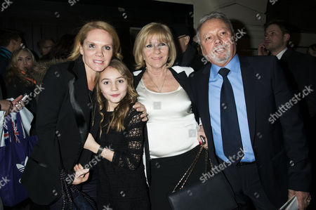 Jacqueline and Anthony Adams with their daughter Louise Adams