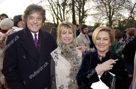Tom Stoppard, Marsha Fitzalan Howard and Celestia Fox