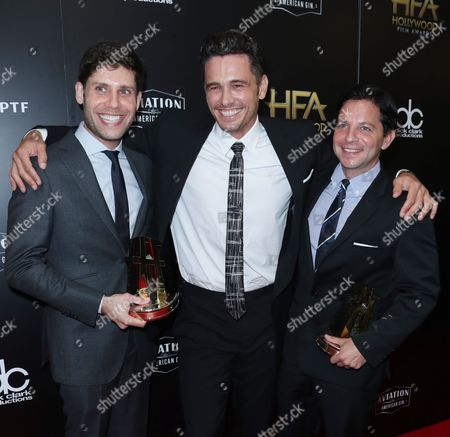 Michael Weber, James Franco and Scott Neustadter