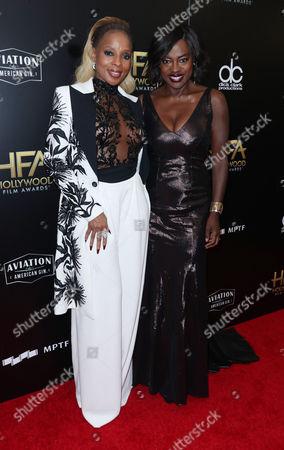 Mary J Blige and Viola Davis