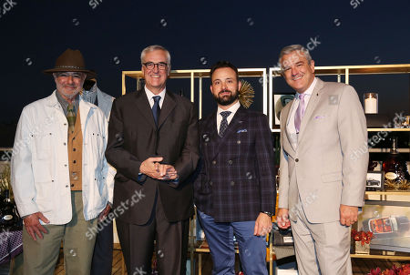 From left, owner of The Stronghold, Michael Paradise, Global Brand Ambassador and 8th generation family member Maurice Hennessy, Hennessy Head of Mixology and Brand Education, Jordan Bushell, and Rolls-Royce Head of Communications, Gerry Spahn, celebrate luxury originals at Hennessy X.O dinner on at Neuehouse Hollywood in Los Angeles. The private dinner featured casual conversation that shed light on each pioneering brand and how theyâ?™ve helped shape the trajectory of luxury goods