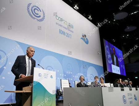 Editorial photo of COP23 Climate Change Conference, Bonn, Germany - 06 Nov 2017