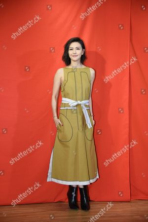 Stock Picture of Stefanie Sun promotes for her new album Sun Yanzi No. 13 works: A Dancing Van Gogh