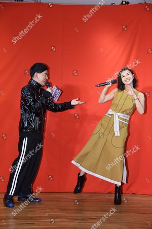Stefanie Sun promotes for her new album Sun Yanzi No. 13 works: A Dancing Van Gogh