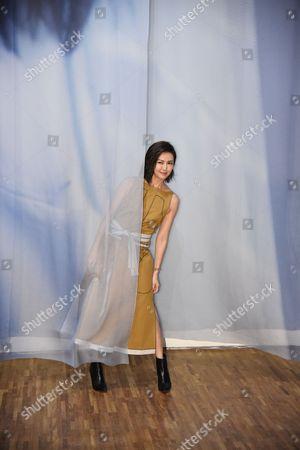 Stock Photo of Stefanie Sun promotes for her new album Sun Yanzi No. 13 works: A Dancing Van Gogh