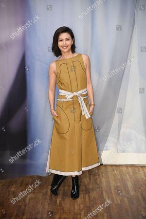 Editorial photo of Stefanie Sun album promotion, Taipei, Taiwan, China - 04 Nov 2017