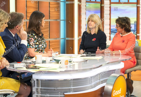 Rachel Johnson and Yasmin Alibhai-Brown, Piers Morgan and Susanna Reid