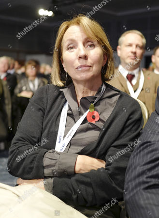 Stock Image of Sarah Sands at the CBI Conference