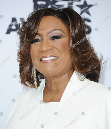 Patti LaBelle poses in the press room at the BET Awards in Los Angeles. LaBelle, Kenny Gamble and Leon Huff will share The Marian Anderson Award given in Philadelphia to artists who have impacted society in a positive way. The awards gala is set for Nov. 15