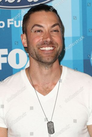"""Ace Young arrives at the """"American Idol"""" farewell season finale at the Dolby Theatre, in Los Angeles"""