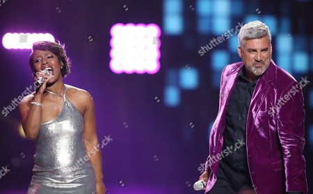 "Editorial picture of ""American Idol"" Farewell Season Finale - Show, Los Angeles, USA - 7 Apr 2016"