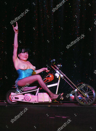 "Selene Luna performs onstage at ""Burlesque: Strip Strip Hooray!"" Starring Dita Von Teese on in Los Angeles"