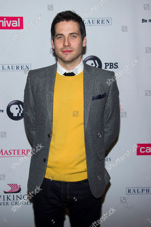 """Stock Picture of Robert James-Collier attends the """"Downton Abbey"""" Season 5 cast photo call on in New York"""