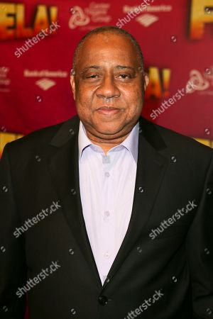 """Actor Barry Shabaka Henley poses during the arrivals for the opening night performance of """"Fela!"""" at the Center Theatre Group/Ahmanson Theatre on in Los Angeles, Calif"""