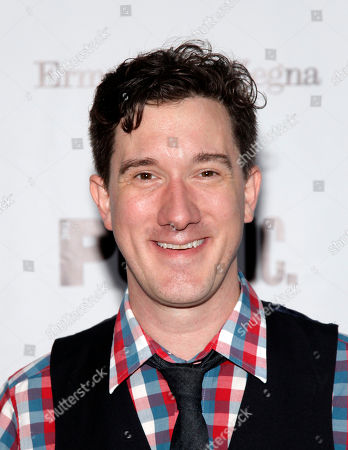 """Stock Picture of Actor Carson Elrod attends the opening night of """"King Lear"""", in New York"""