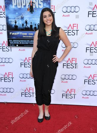 """Dana Gaier arrives at the """"Mary Poppins"""" 50th anniversary commemoration screening at the TCL Chinese Theatre on in Los Angeles"""