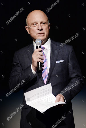 """Starz CEO Chris Albrecht attends the """"Outlander"""" Book Two World Premiere and After Party at the American Museum of Natural History, in New York"""