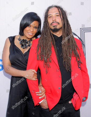 "Beverly Bond and Bazaar Royale arrive at the ""PRE"" BET Awards Dinner at Milk Studios, in Los Angeles, Calif"