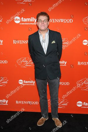 """Executive producer Oliver Goldstick arrives at the """"Pretty Little Liars"""" screening of a special Halloween episode at the Hollywood Forever Cemetery on in Los Angeles"""