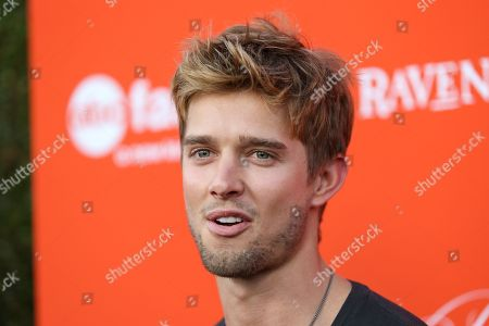 "Stock Image of Actor Drew Van Acker arrives at the ""Pretty Little Liars"" screening of a special Halloween episode at the Hollywood Forever Cemetery on in Los Angeles"