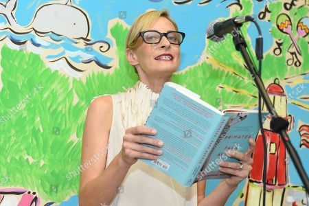 """Author Wednesday Martin speaks at the """"Primates Of Park Avenue"""" book release event at the Children's Museum of the East End in Bridgehampton, in New York"""
