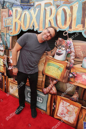 "Stock Picture of Steve Blum seen at ""THE BOXTROLLS"" LOS ANGELES PREMIERE Presented by LAIKA AND FOCUS FEATURES To Benefit the Imagination Foundation, in Universal City, Calif"