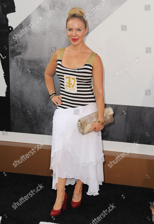 """Stock Photo of Shirly Brener attends the premiere for """"The Expendables 2"""" at Grauman's Chinese Theatre on in Los Angeles"""