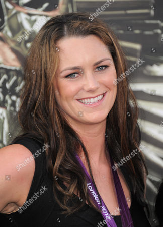 """Jessica Steffens attends the premiere for """"The Expendables 2"""" at Grauman's Chinese Theatre on in Los Angeles"""