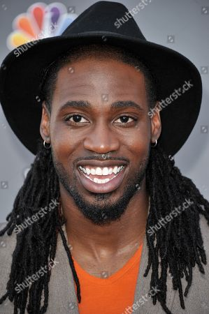 "Stock Photo of Delvin Choice seen at ""The Voice"" Top 12 Red Carpet Event on in Universal City, Calif"