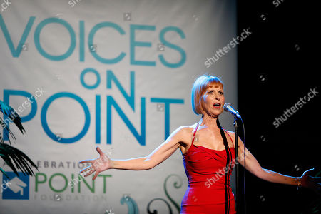 "Ellen Greene performs at ""Voices On Point"" Concert & Gala held at The Wiltern theatre, in Los Angeles"