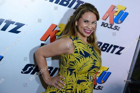 Stock Picture of Carolina Bermudez arrives at 103.5 KTUâ?™s KTUphoria 2015, at Nikon at Jones Beach Theater,, in New York