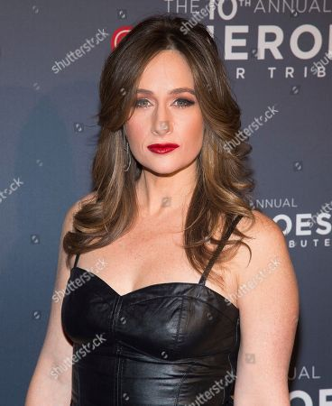 Alison Kosik attends the 10th Annual CNN Heroes: An All-Star Tribute at the American Museum of Natural History, in New York